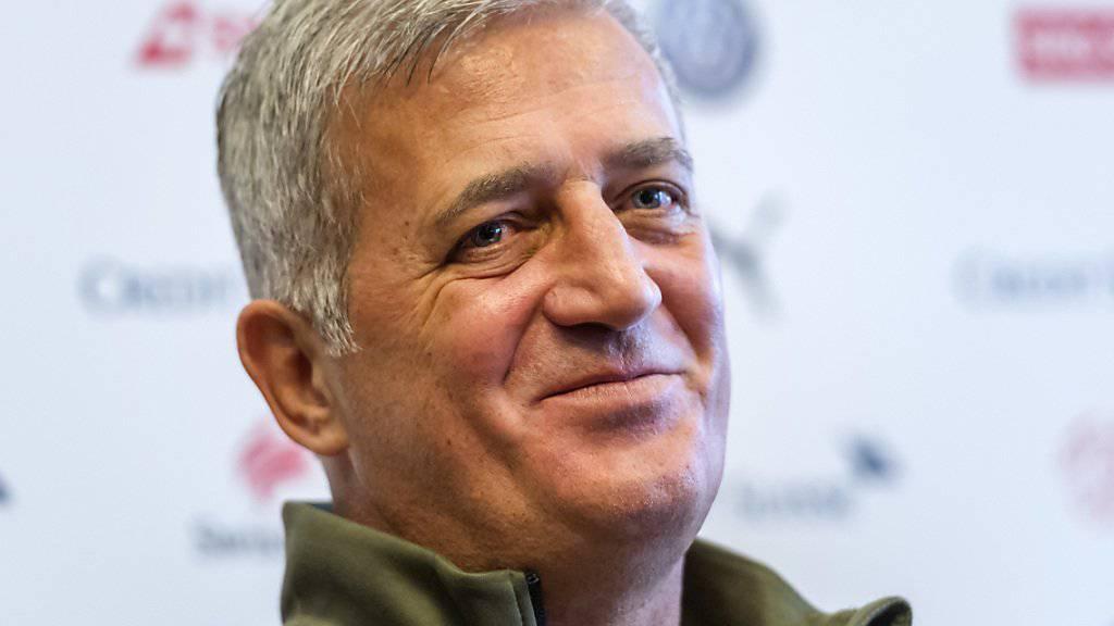 Das von Vladimir Petkovic trainierte Fussball-Nationalteam ist im FIFA-Ranking weiterhin die Nummer 8 der Welt.