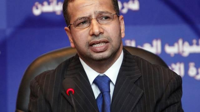 Der neu gewählte Parlamentspräsident Salim al-Dschaburi (Archiv)