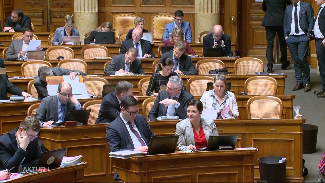 Sitzordnung im Nationalrat sorgt für Knatsch bei der SVP
