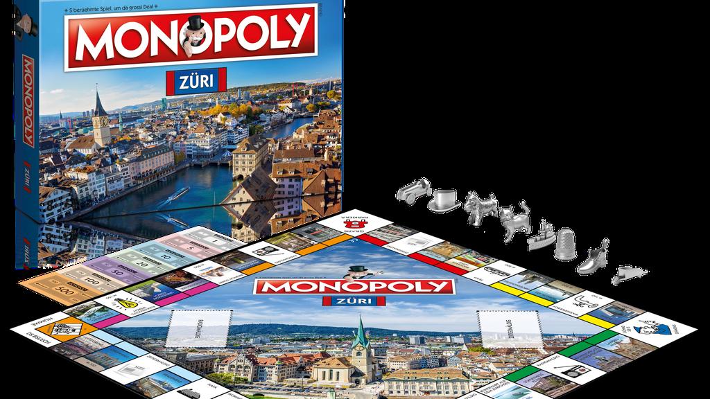Das Zürcher Monopoly ist da!