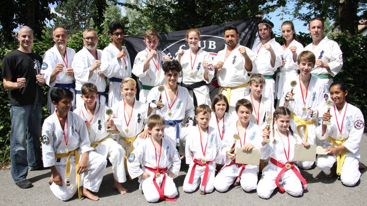 Wohler Karateteam feiert 11 Podestklassierungen am 7. Winiticup