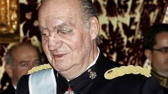 Spaniens König Juan Carlos geht auf Distanz zu seinem Schwiegersohn (Archiv)