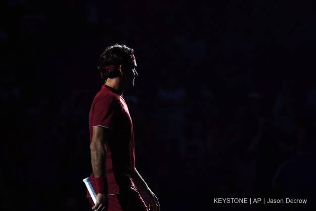 Für Roger Federer ist es ein Spiel zum Vergessen.