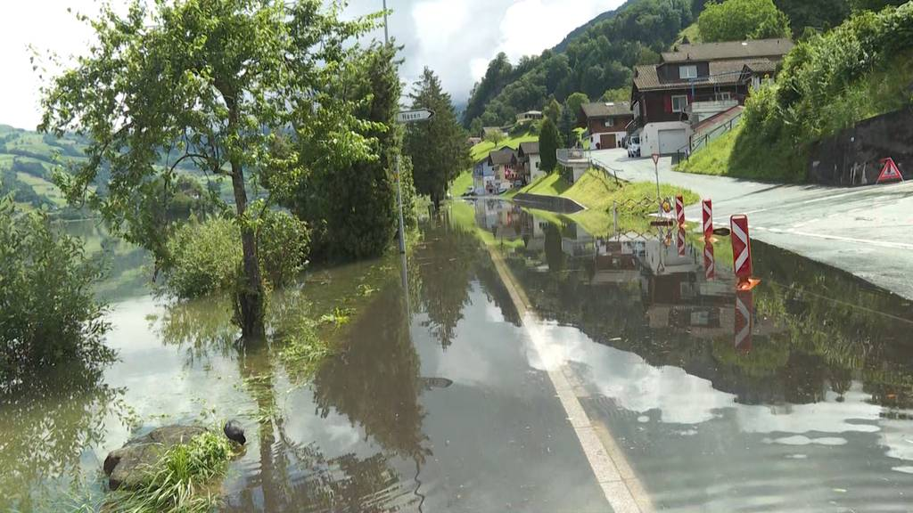 Sondersendung zur Hochwasser-Lage in der Schweiz