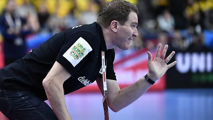 Handball-Nationaltrainer Michael Suter führte die Schweiz erstmals nach 14 Jahren wieder an eine Endrunde
