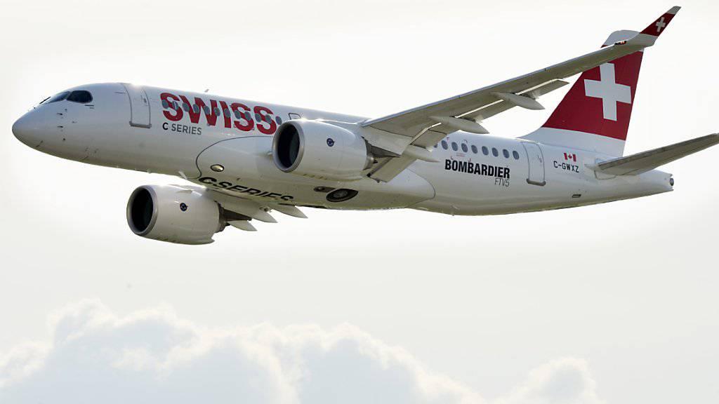 Mehr Flüge, weniger Passagiere: Für die Swiss verlief der Februar nicht optimal.