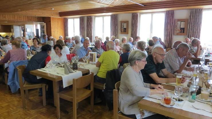 Das Zvieri im Hotel Restaurant Weisses Kreuz  in Schwarzenberg