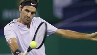 Roger Federer gelingt das Comeback nach einem Monat Pause