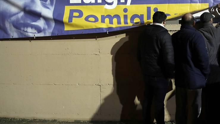 Die populistische Fünf-Sterne-Bewegung in Italien pflegt seit langem Verbindungen nach Moskau. (Symbolbild)