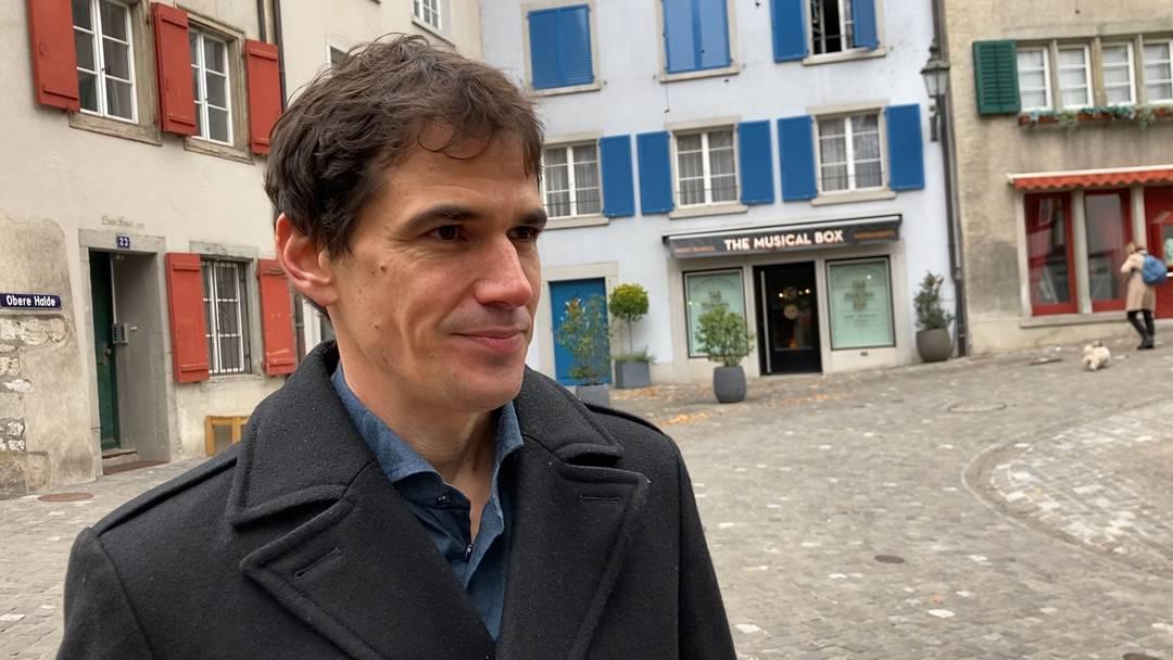 """""""Ich bin ja nicht der König von Baden"""": Benjamin Steiner, Team Baden, nach seiner Wahl in den Stadtrat im Interview"""
