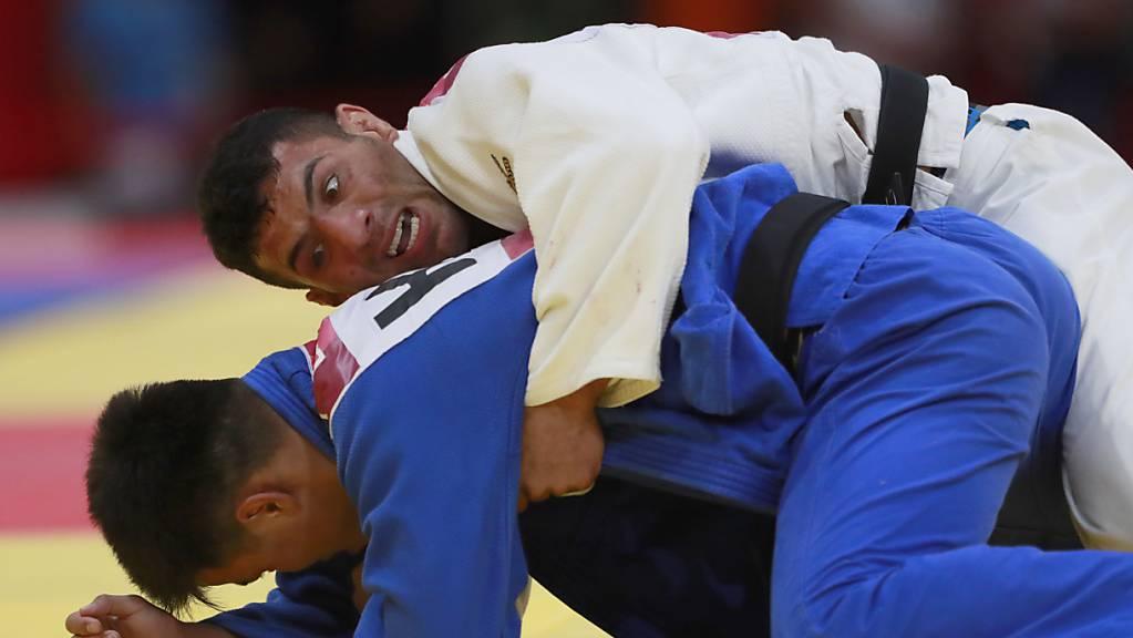 Saeid Mollaei (oben), ein Judoka aus Iran, verlor seinen Halbfinal-Kampf an der WM absichtlich, um nicht gegen einen Israeli kämpfen zu müssen.