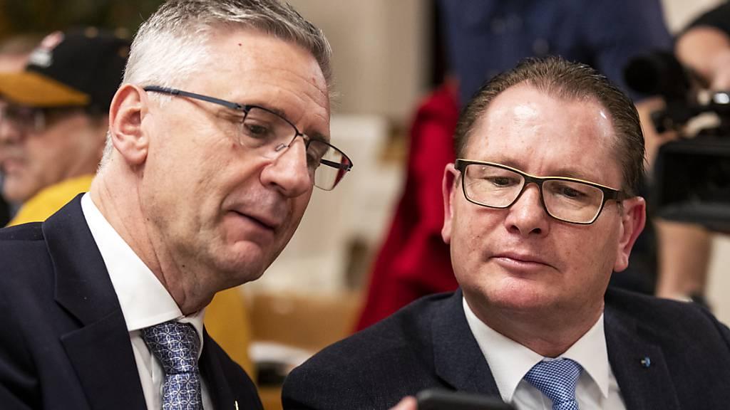 Nationalrat Andreas Glarner ist Präsident der SVP Aargau