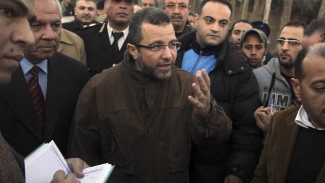 Der ehemalige ägyptische Regierungschef Kandil (Archiv)