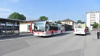Der BGU wünscht sich seit Jahren eine Verbesserung der Situation für Busse beim Bahnhof Süd.
