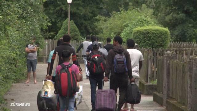 Flüchtlings-Boykott in Rekingen AG