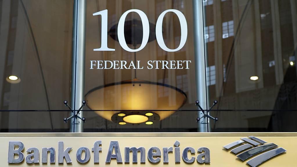 Der Gewinn der Bank of America bricht um ein Drittel ein. (Archiv)
