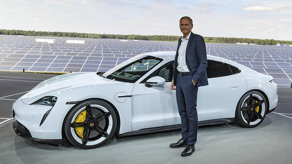 Porsche präsentiert sein erstes reines Elektroauto