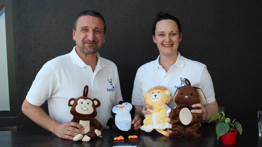 Weg mit der Infusion: Rheintaler Stofftiere für Kinder im Spital
