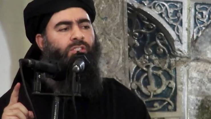 Einer der meist gesuchten Terroristen: Auf IS-Anführer Abu Bakr al-Bagdadi setzen die USA ein Kopfgeld von 25 Millionen Dollar aus. (Archivbild)