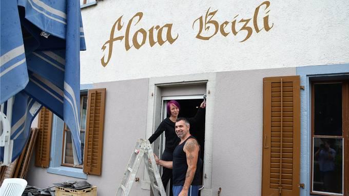 Tamara Häfliger und Max Steinmann bringen ihre «Flora» mit viel Eigeninitiative wieder in Schwung.