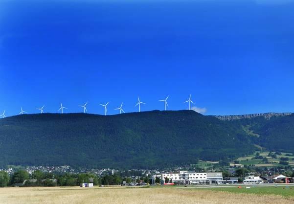 ...und nach den geplanten Windparks