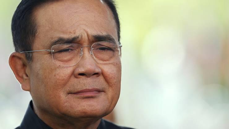 Thailands Parlament hat den ehemaligen Putsch-General Prayut Chan-o-cha zum Premierminister gewählt. An den Umständen seiner Wahl gibt es viel Kritik. (Archivbild)