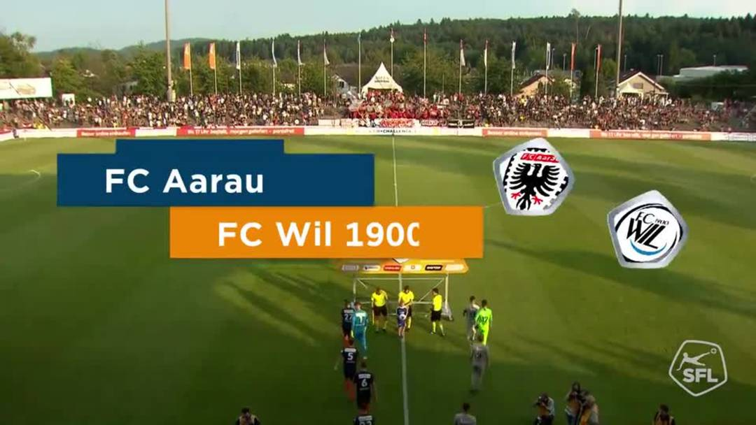 Challenge League 2019/2020, FC Aarau - FC Wil (31.08.2019), Video-Highlights