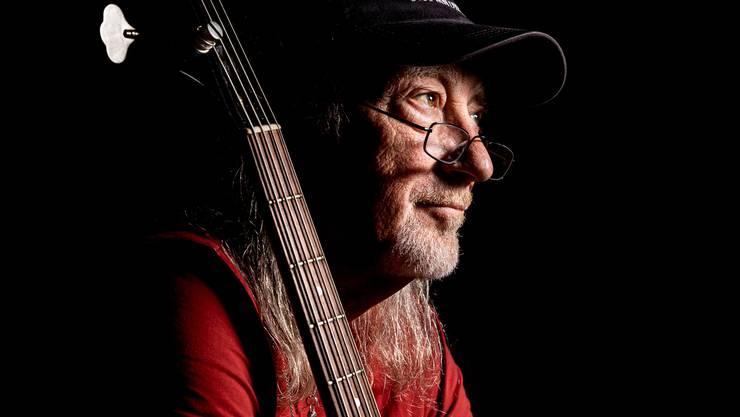 Deep-Purple-Bassist Roger Glover im «Jurassic Music Park» in Frick.