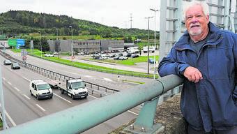 Peter Scholer fürchtet noch mehr Verkehr an der Grenze.