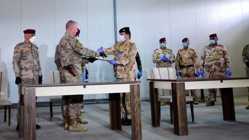 US-Bündnis zieht Soldaten nach Angriff auf Militärbasis ab
