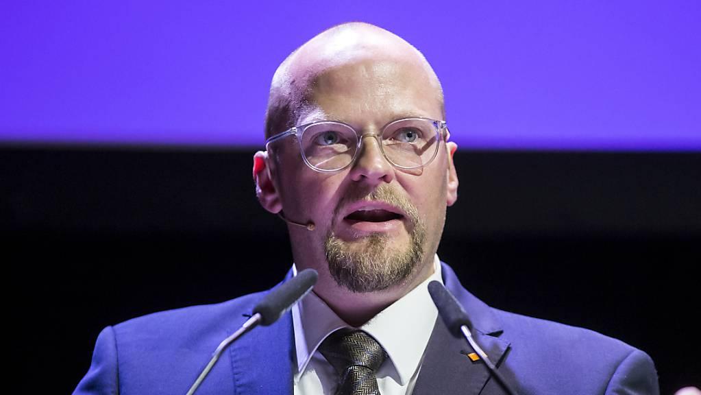 Der Luzerner CVP-Präsident Christian Ineichen will die Partei umbenennen. Dieser Schritt wird von der Basis unterstützt. (Archivaufname)