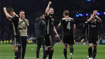 Sie verspotten die Gesetze des Fussball-Kapitalismus: Ajax Amsterdam.