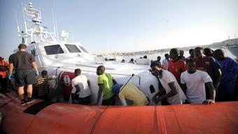 Flüchtlingsdrama im Mittelmeer