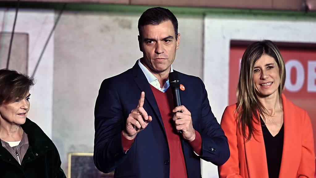 Kein Ausweg aus der politischen Krise in Spanien in Sicht: der sozialistische Ministerpräsident Pedro Sánchez.