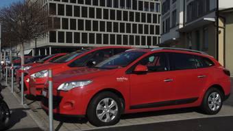 Insgesamt vier Autos sind neu beim Mobility-Standort Bahnhof/Campus.