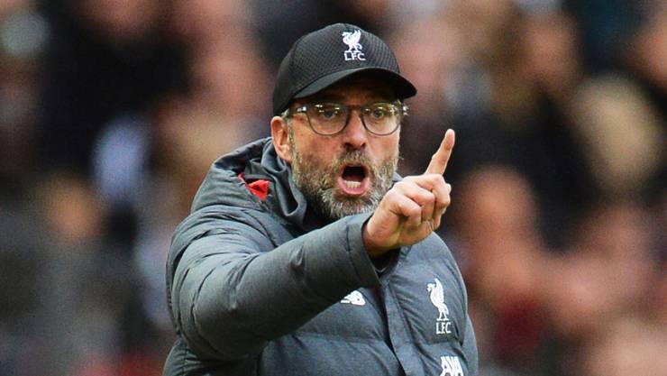 Liverpools Trainer Jürgen Klopp warnt vor einem Termin-Chaos
