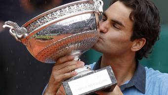 Bleibt vorerst Federers einziger French-Open-Triumph: der Sieg von 2009