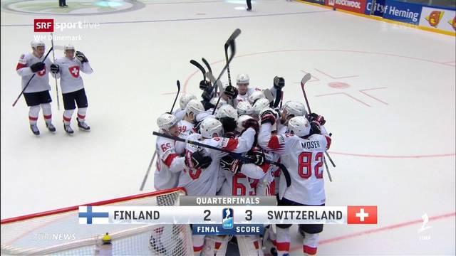 Schweizer Eishockey-Nati im WM-Halbfinale