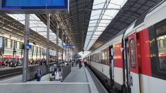 Der Bahnhof Olten.