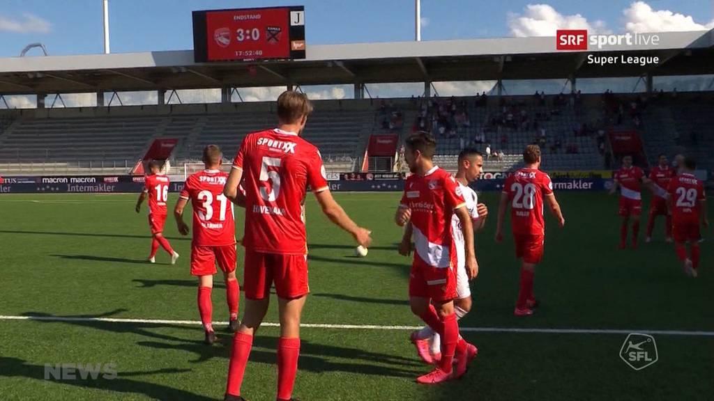 FC Thun gewinnt Abstiegs-Duell gegen Xamax