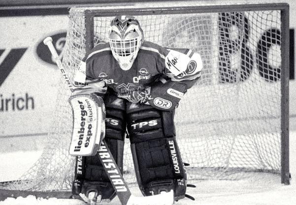 Olivier Anken, ein kleiner Goalie, der zwischen 1976 und 1994 Grosses leistete.