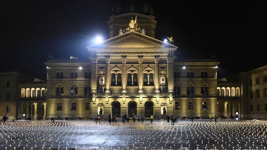 Im Corona-Ausnahmezustand: Das Schweizer Jahr in Bildern