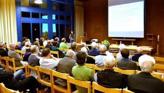 Am Infoanlass wurde klar: Die neue Nutzungsplanung soll sicherstellen, dass Riniken auch weiterhin ein lebenswerter Ort bleibt. MW