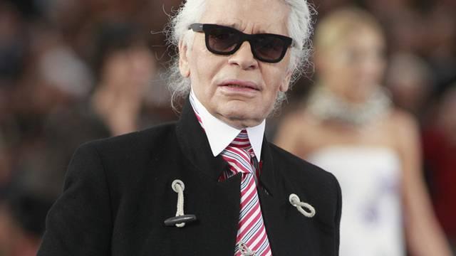Fährt dem französischen Präsidenten an den Karren: Karl Lagerfeld (Archiv)