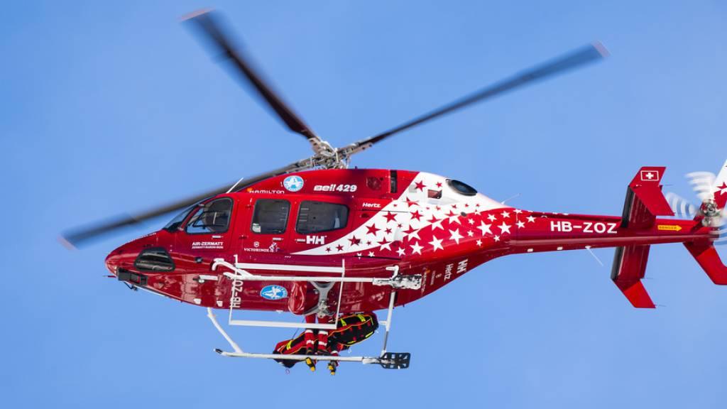 Über 85 Rettungseinsätze im Wallis über Ostertage