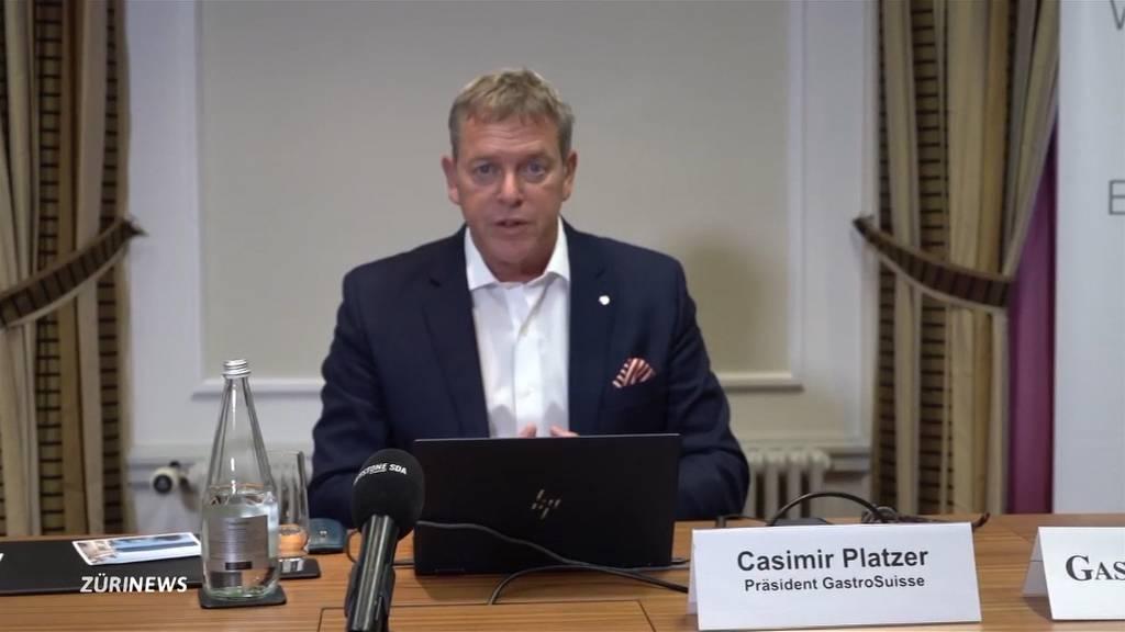 «Tod auf Raten»: Gastro-Suisse-Präsident wegen Corona-Massnahmen wütend