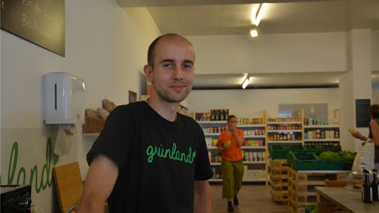 Simon Kiefer in seinem Laden. Jetzt will er sich beruflich neu orientieren.
