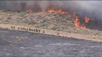 Thumb for 'Waldbrand in Kalifornien - 400 Feuerwehrleute im Einsatz'