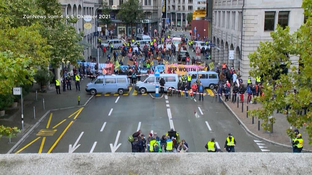 Die Geschäfte in Zürich litten unter der Klima-Blockade