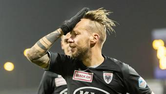 Auffälliges Erscheinen, auffällig starke Leistungen auf dem Platz: Markus Neumayr führt den FC Aarau zum Sieg im ersten Rückrundenspiel